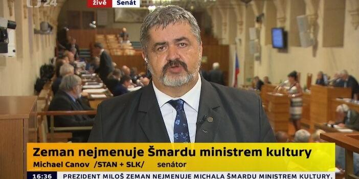 Neobsazené místo ministra kultury členem vlády od 1. srpna 2019